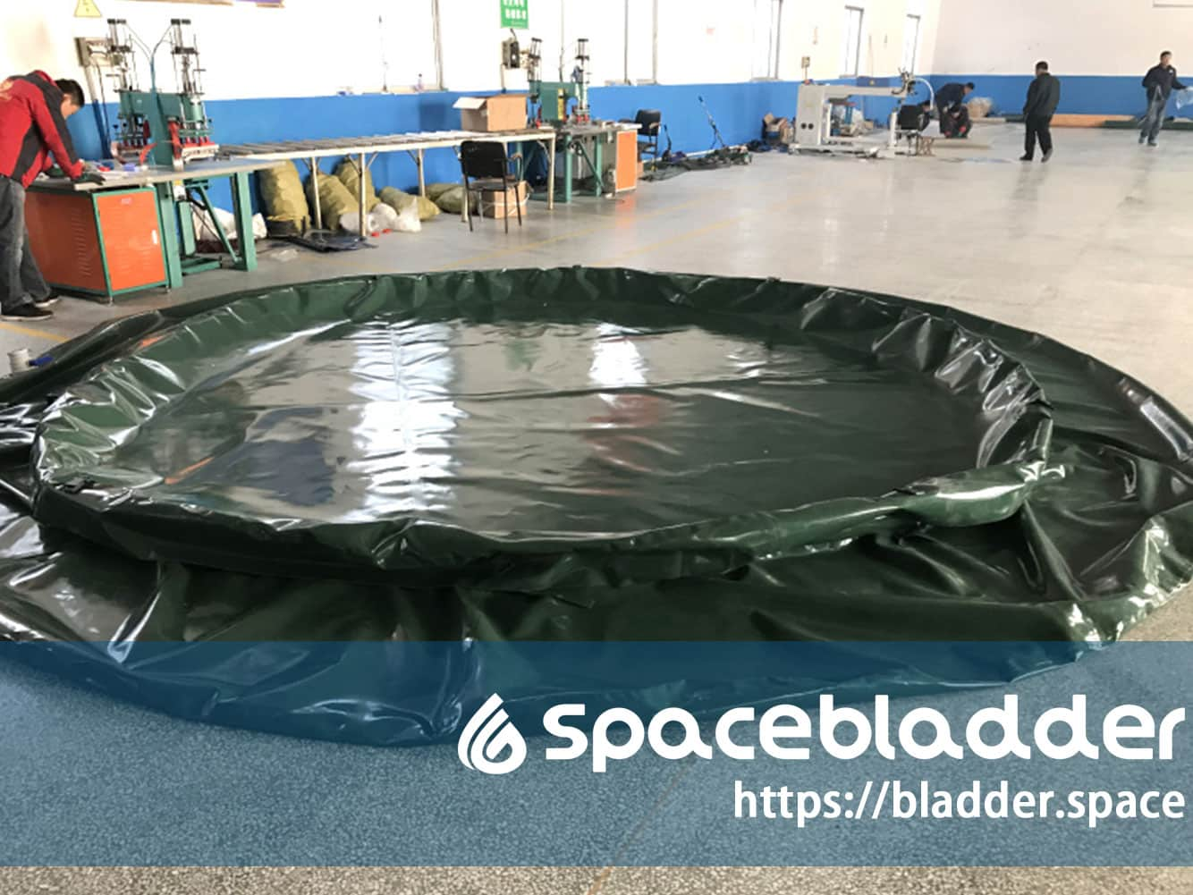 150Gallon Onion Shape Food Grade Water Tank for Amry Application-2
