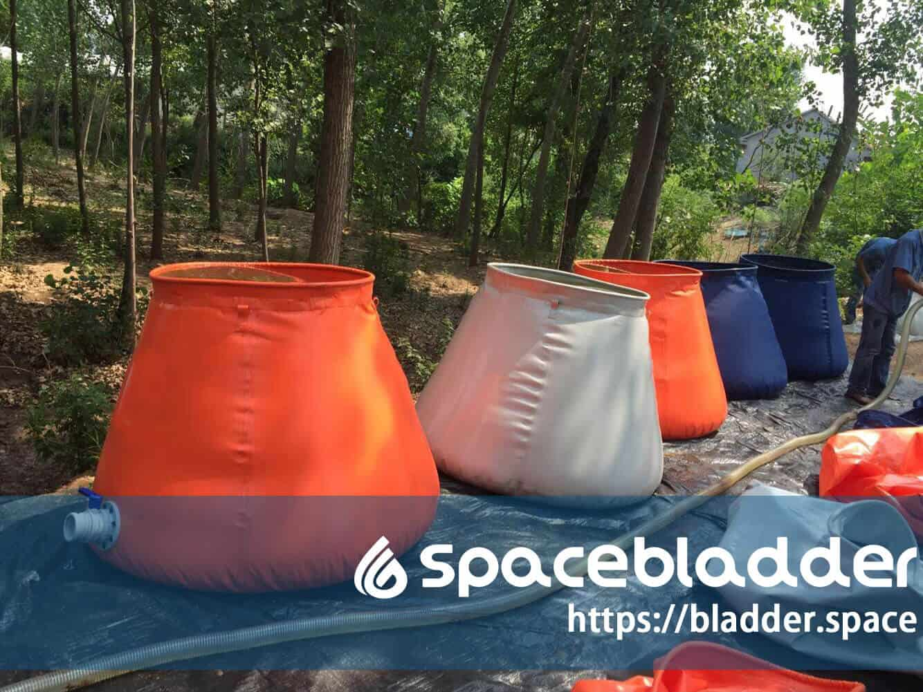 Collaspible TPU Material Durable Onion Shape Drinking Water Bladder Tank 4