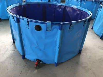 Flexible Durable Larage Aquaculture Fish Farming Tanks