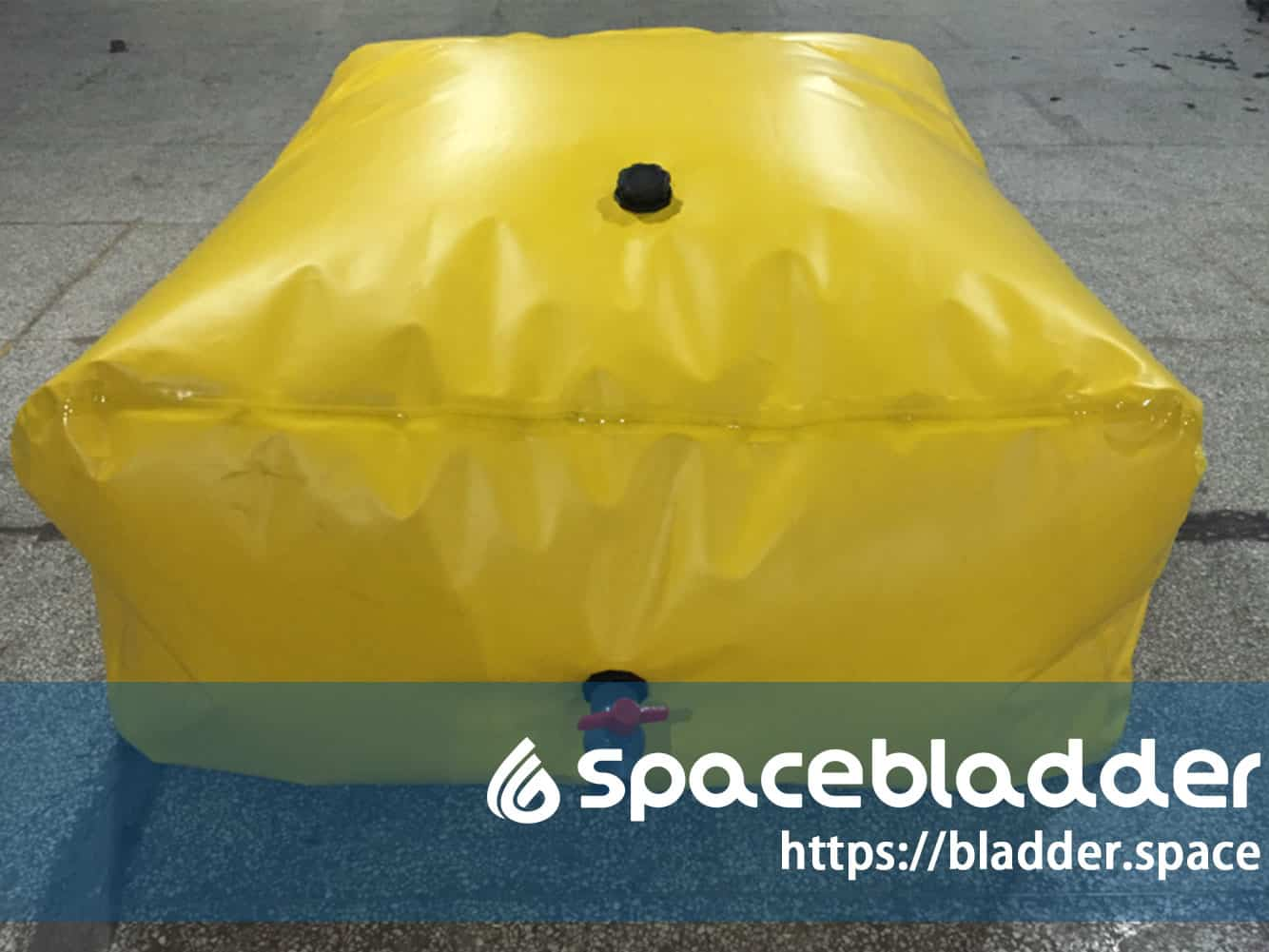 Inflatable-PVC-Tarpaulin-High-Tearing-Strength-Square-Industrial-Water-Tank-1