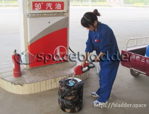 Portable Cylinder Gasoline Storage Bladder Bag