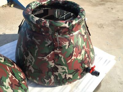 Self-supporting-Open-top-Flexible-Bivouacking-Water-Tank