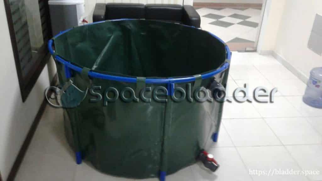 Tarpaulin-PVC-Collapsible-Fish-Tank-For-Aquaponics-Purpose
