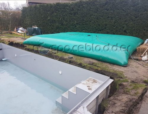 SpaceBladder Flexible Pillow Water Bladder Tank for South African Customers' Swimming pool