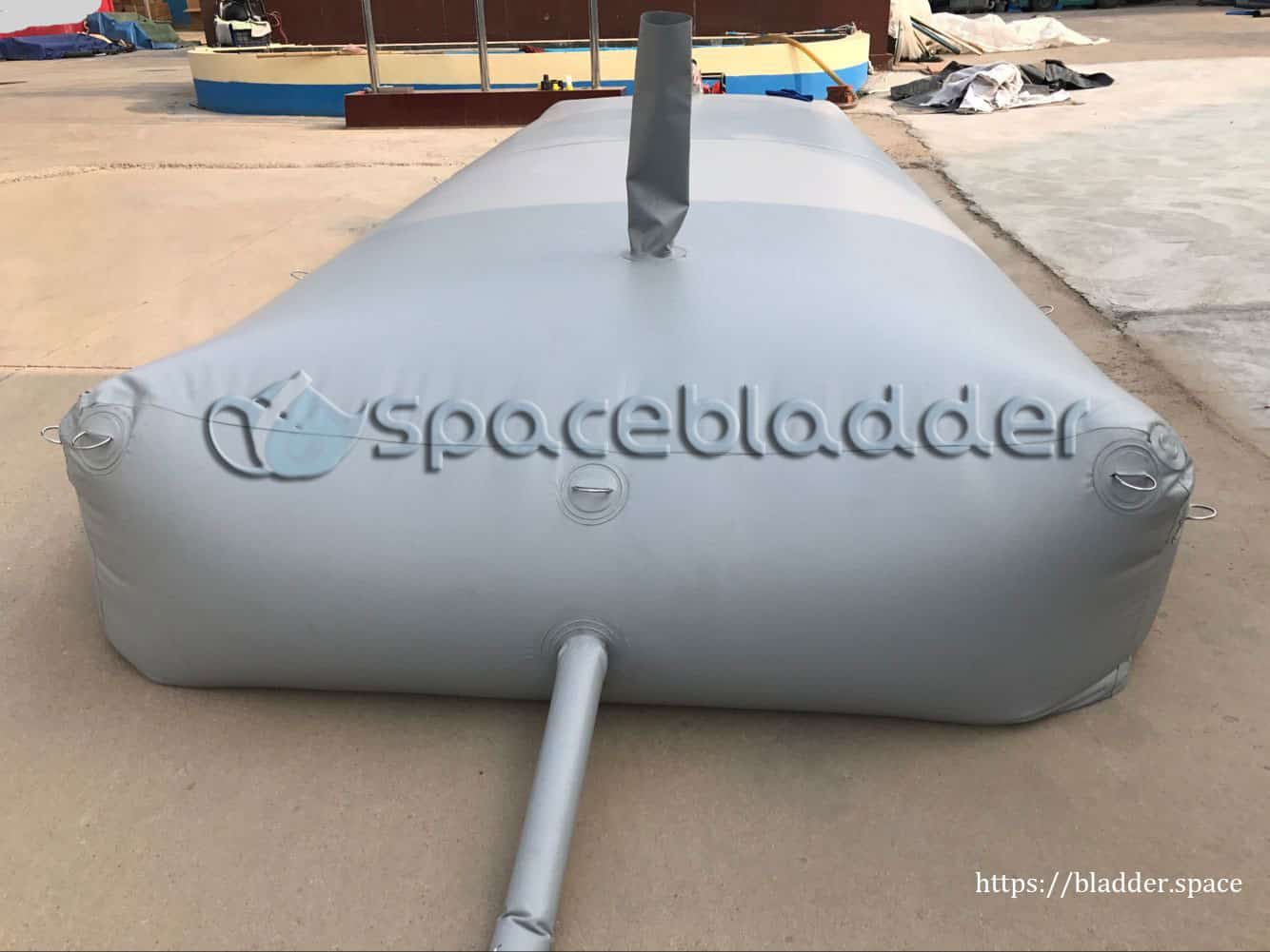 Customized Square PVC Bladder Tank for Mid-East Customer 1