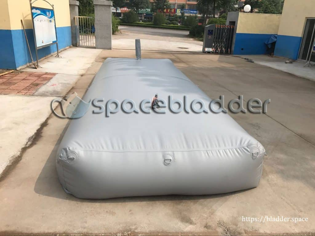 Customized Square PVC Bladder Tank for Mid-East Customer 2