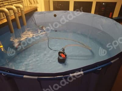 Flexible Collapsible Round Movable KOI Fish Tank 4