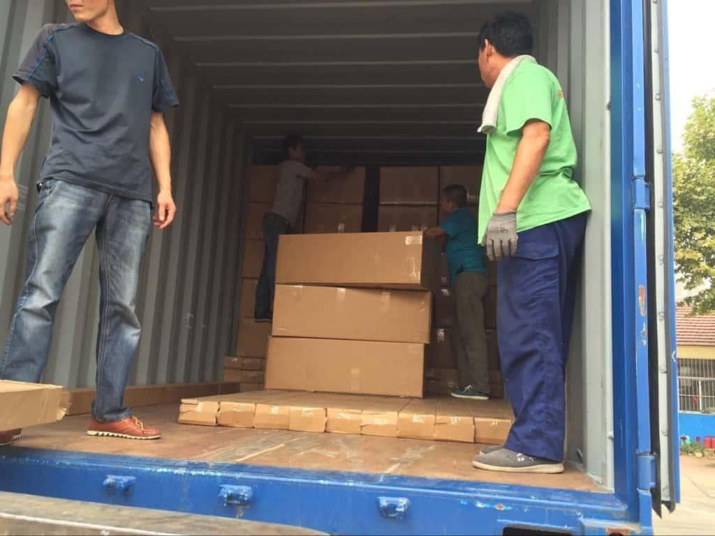 Sri Lanka Customer One Container Flexible Water Tank Order