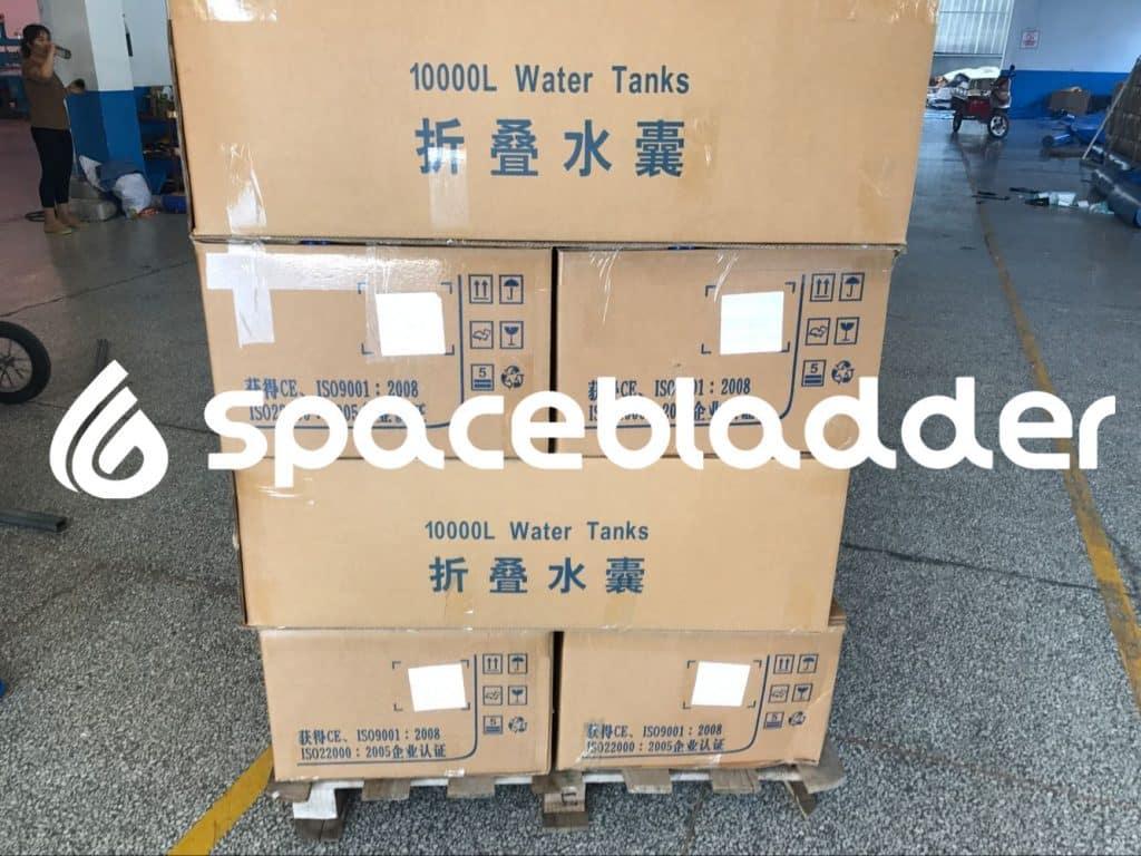 Kenya Customer Order 10000L Water Tank 1000pcs 16