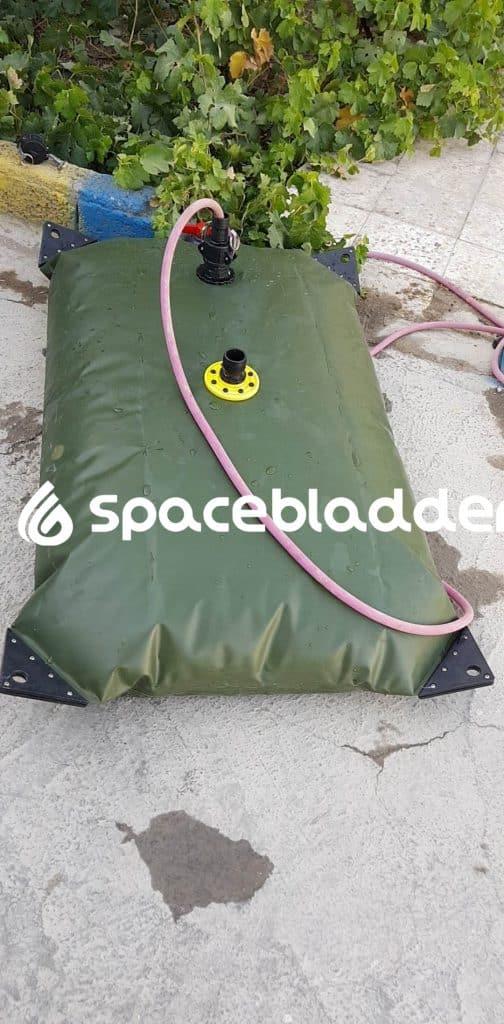 SpaceBladder TPU Pillow Water Tank for House Water Saving Purpose