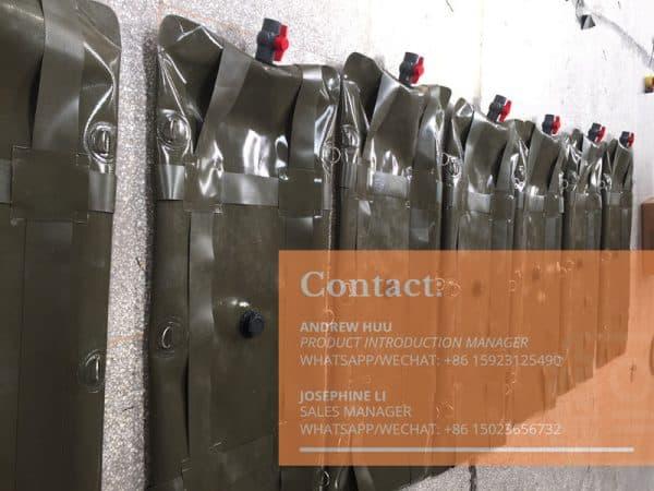 Fuel bladders custom fuelocker range extension tanks for gas or diesel