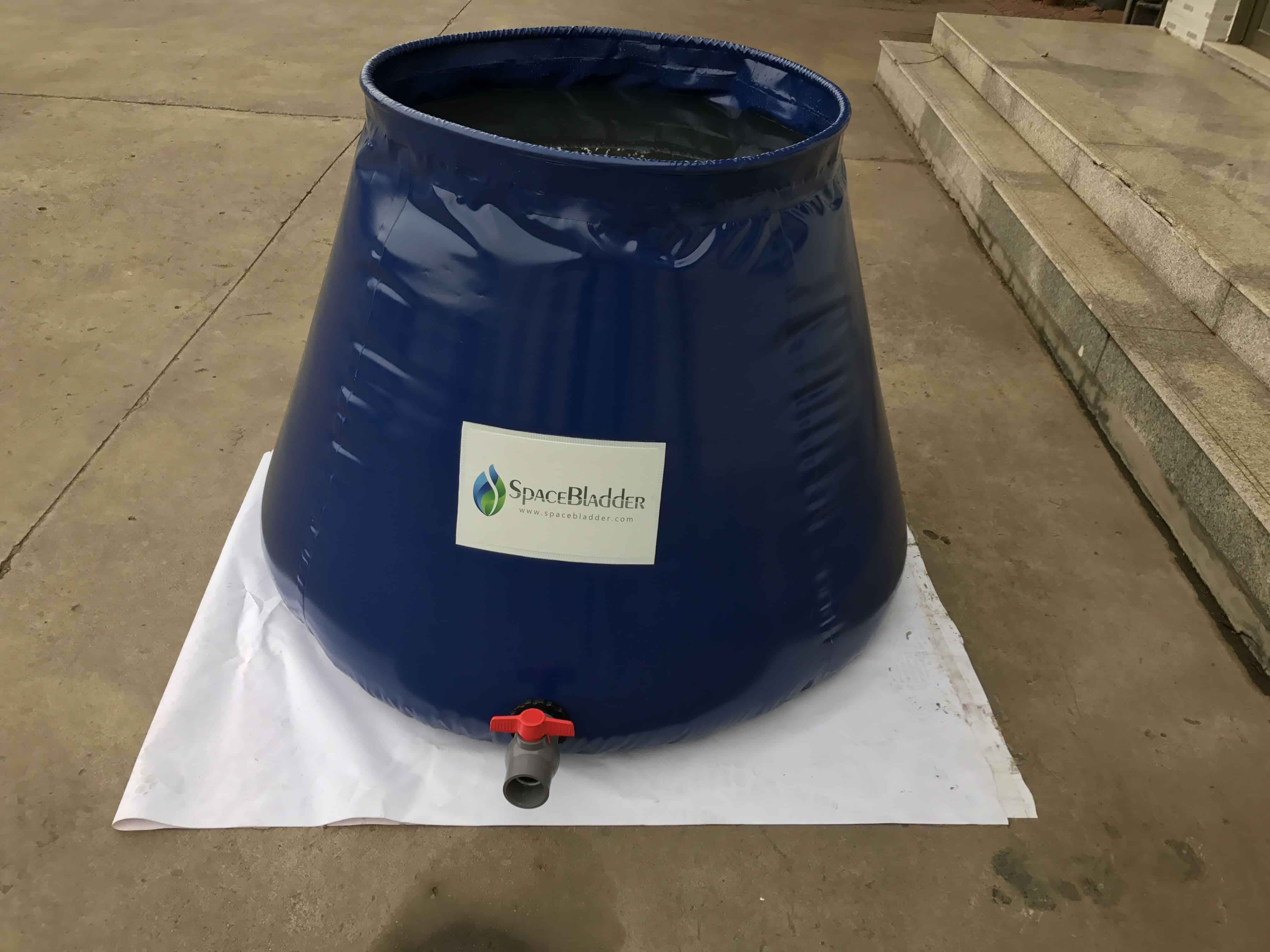 Spacebladder 1,000L Onion Shape Water Storage Tank to The United Kingdom 1