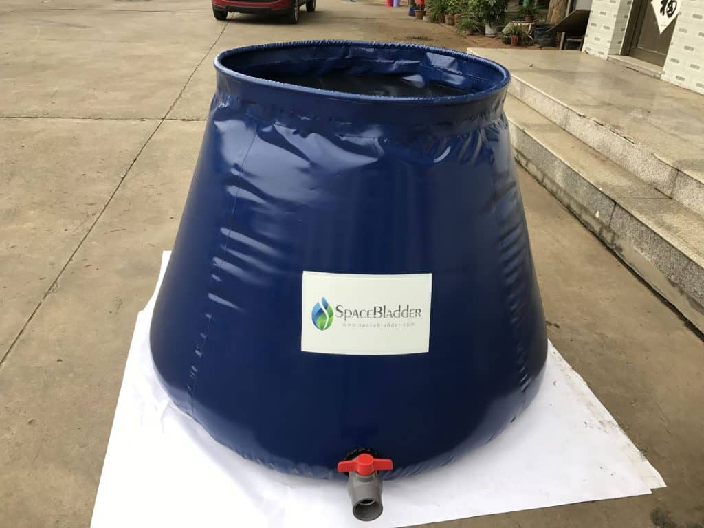 Spacebladder 1,000L Onion Shape Water Storage Tank to The United Kingdom 2