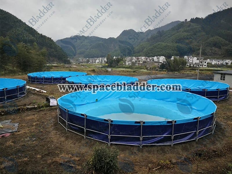 Round Shape Aquaculture Tanks
