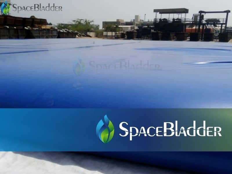 fill water and test the water bladder