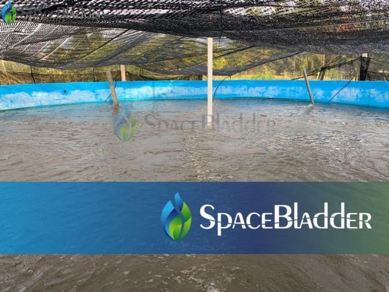120000l pvc tarpaulin round large fish farming tanks 1