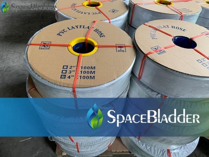 pvc layflat hose package