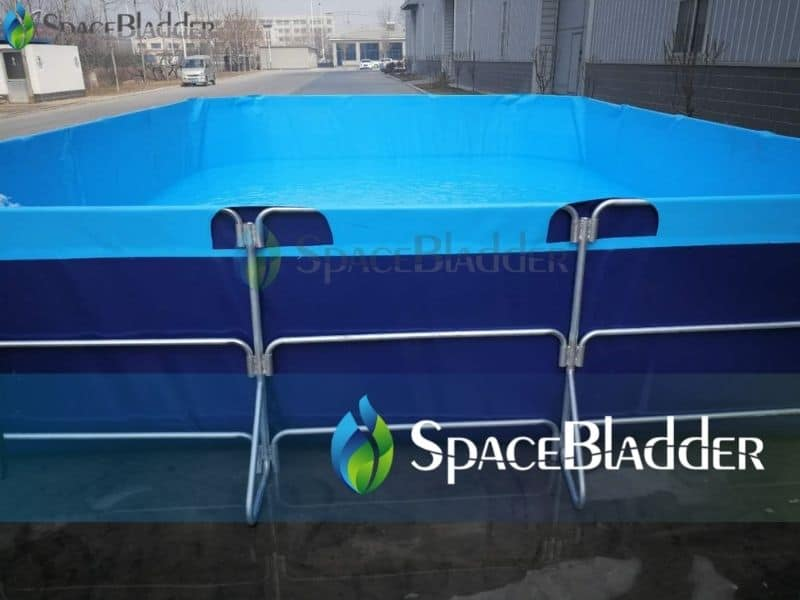 rectangular folding tanks for aquaculture system shrimp tanks 3
