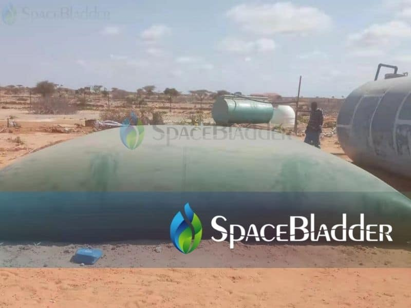 30000L Flexible PVC Water Tank Large Water Containers in Somalia