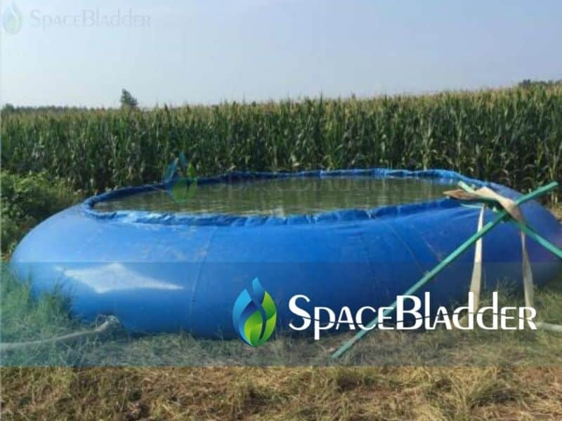 50000 liter agricultural farm use mobile water reservoir tank filling water